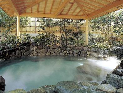 熱海金城館 露天風呂