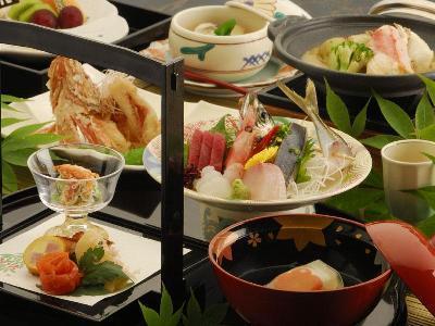 熱海後楽園ホテル(みさき館) 料理