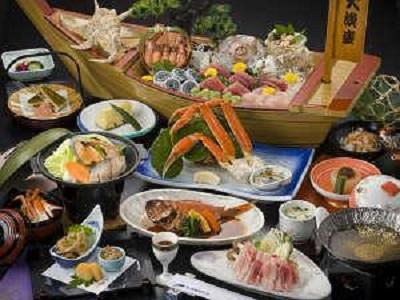 堂ヶ島温泉ホテル 料理
