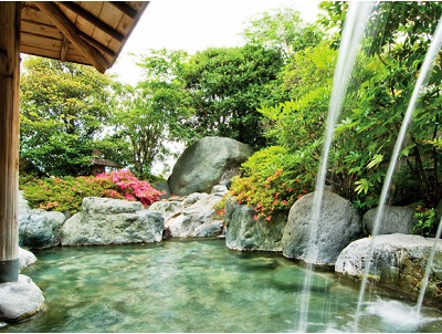 ホテル石風 露天風呂