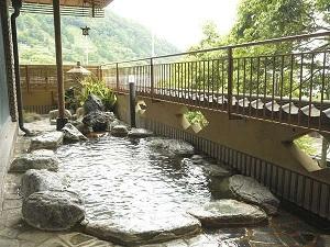 川堰苑いすゞホテル 露天風呂