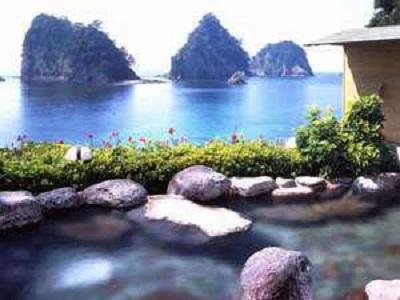 堂ヶ島温泉ホテル 露天風呂