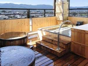 ホテル古柏園 露天風呂