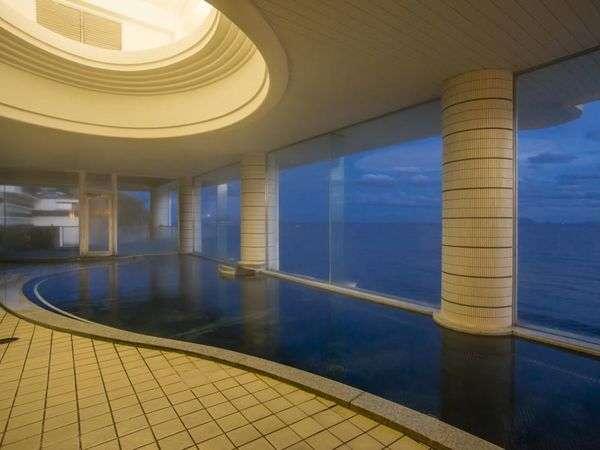 海一望 絶景の宿 いなとり荘 大浴場