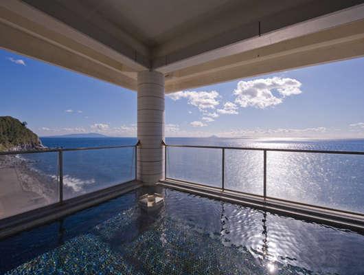 海一望 絶景の宿 いなとり荘 露天風呂