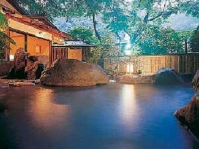 青巒荘 露天風呂
